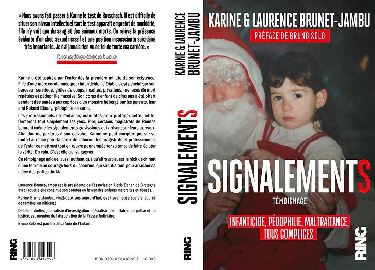 Signalements couverture du livre / Laurence Brunet-Jambu