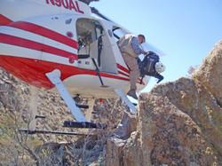 GE Banding, Moreno Butte, Jeff Wells departing Helo, 2007