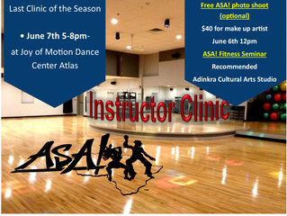 Next Clinic June 7th