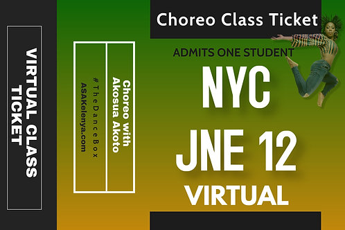 NYC Class -VIRTUAL