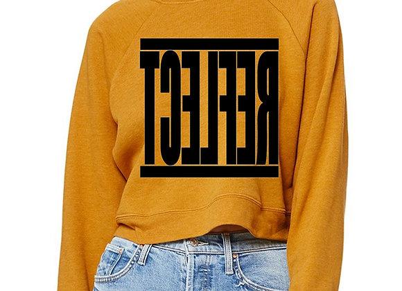 REFLECT Women's Crop Sweatshirt