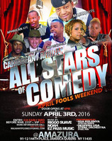 Opening for Caribbean vs. African All Stars of Comedy
