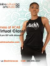 Wednesdays 7:30pm with Akosua
