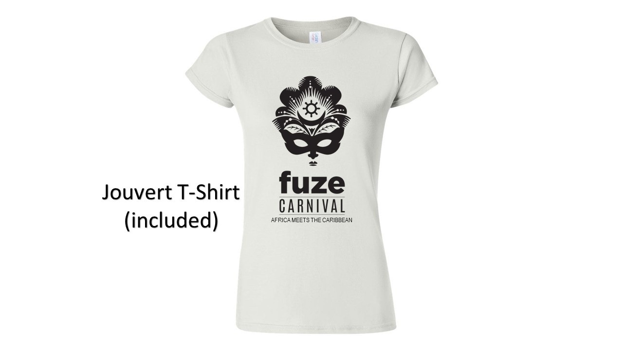 women's jouvert shirt (included)