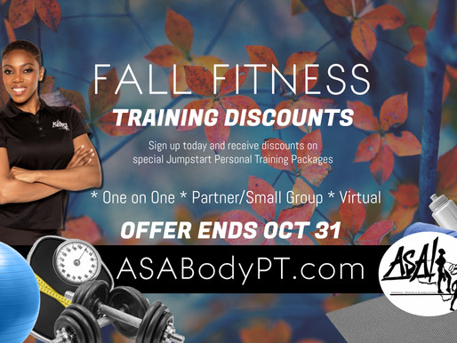 Fall Fitness with our Founder!