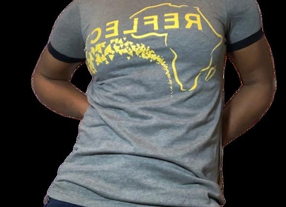 Reflect Africa Women's Ringer T-shirt