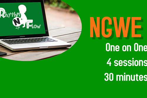Ngwe 4 sessions   30 Minutes