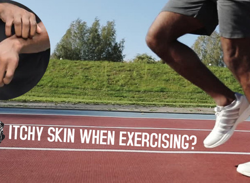 Itchy Skin When Exercising ?