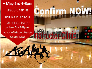 Confirm your spot at the next clinic