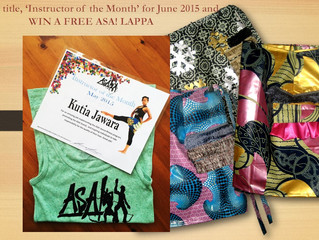 New prize for June Instructor of the Month!!