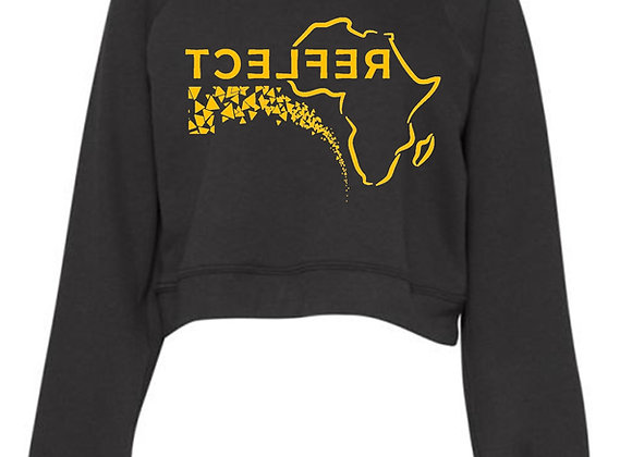 Reflect Africa Crop-top sweater