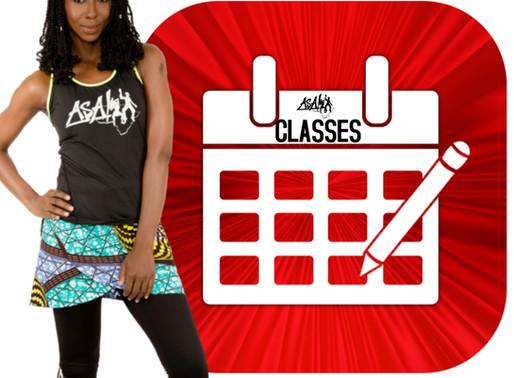 The Official ASA! Virtual Class Schedule