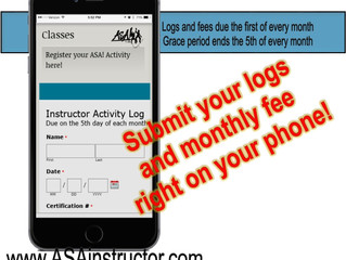 Submit your logs right on your smartphone!!