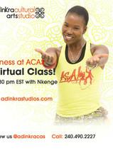 Thursdays 6:30pm with Nkenge
