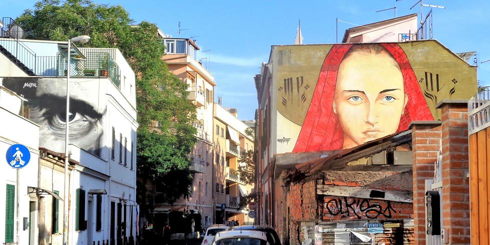 Il Pigneto e la sua gente tra storie di vita e Street Art