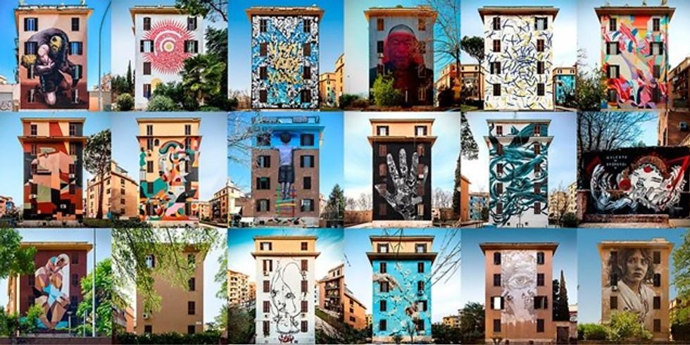 I colori del riscatto. I murales di Tor Marancia