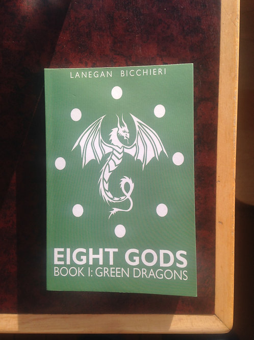 Eight Gods Book I: Green Dragons First Edition Print