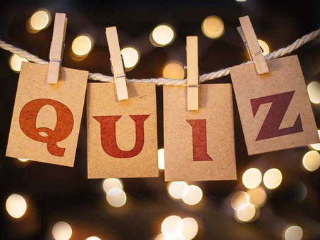 Our Friday quizzes