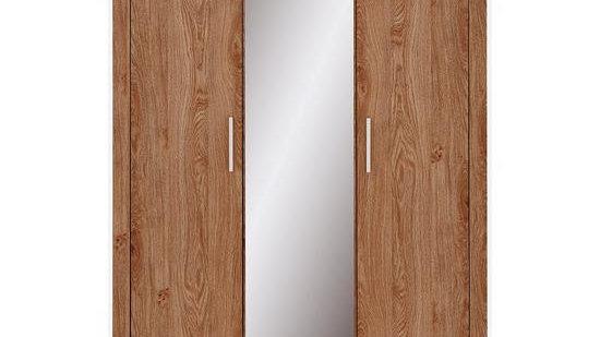 Cuba 3 Door Mirrored Wardrobe