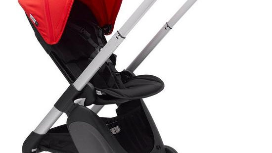 Ant Pushchair - Neon Red