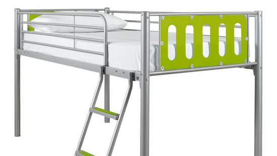 Cyber Mid-Sleeper Bed Frame