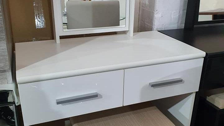 Home essentials Prague dressing table stool and mirror set