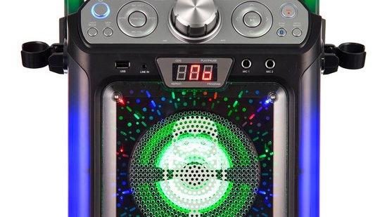 Singing Machine SML682BTBK Bluetooth CDG + Tablet Karaoke Machine