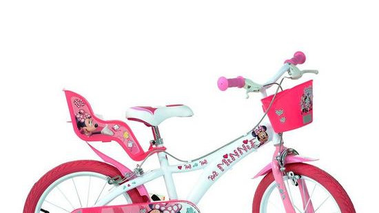 Minnie Mouse 16inch Bike