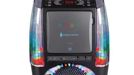The Singing Machine SML605 - Agua Black
