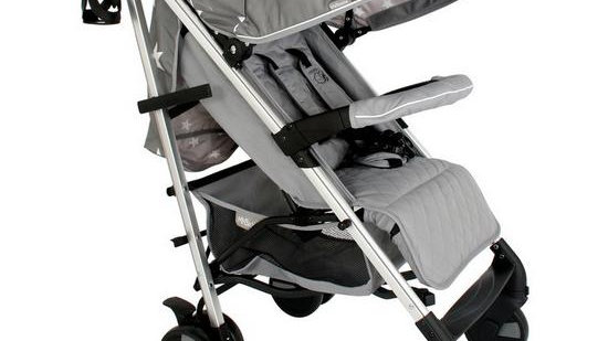 My Babiie Billie Faiers MB51 Grey Stars Stroller