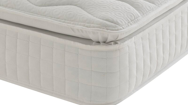 Eco Comfort Pillow Top Pocket Sprung 1000 Mattress KING