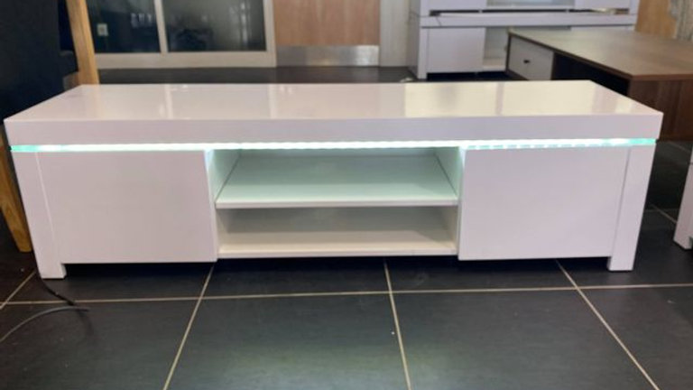 Atlantic Gloss TV Unit with LED Lights