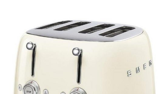 Smeg 50s 4 Slice Toaster - Cream