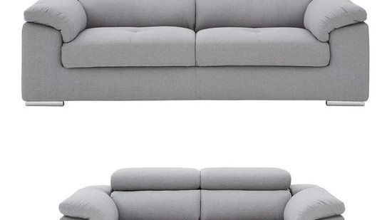 Brady 3 Seater + 2 Seater Fabric Sofa Set