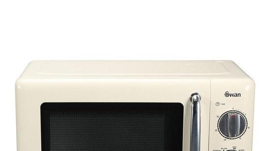 Swan SM22080C 20-Litre Manual Microwave - Cream