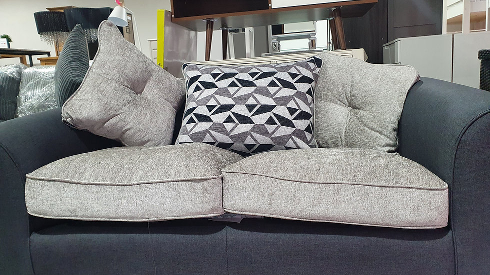 Juno Fabric Scatter back 2 seater sofa