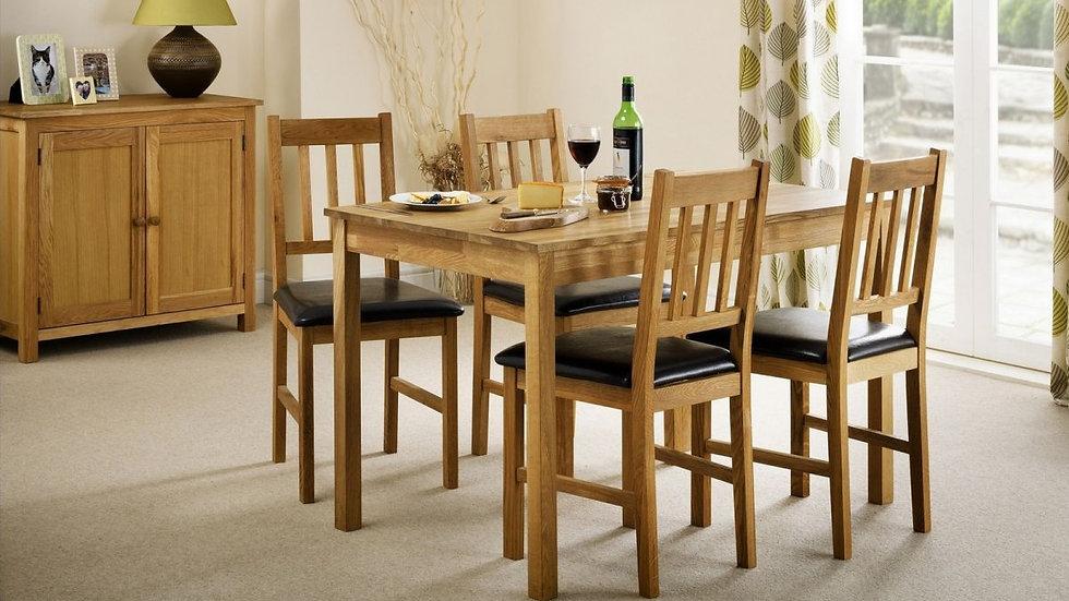 Coxmoor Oak Rectangular Dining Set