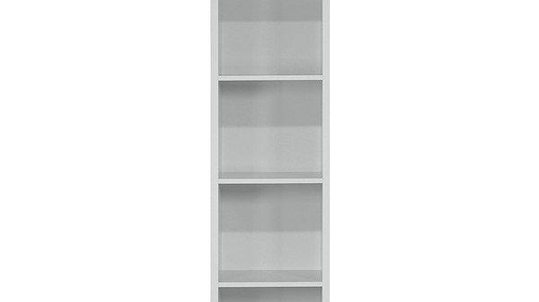 Home Essentials-  Grey Metro tall half width bookcase