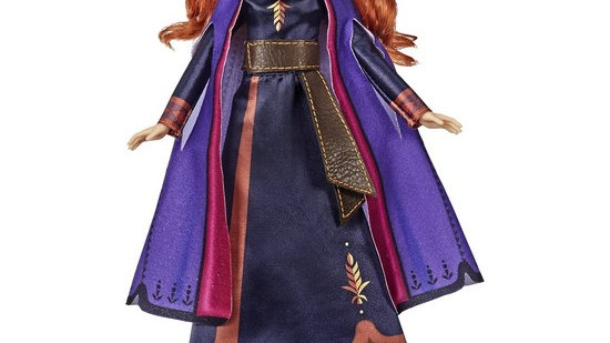 Disney Frozen Singing Anna Fashion Doll