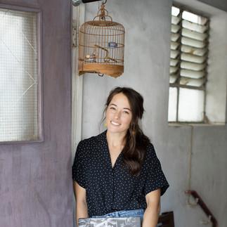 Sunset Suvivor author Lindsay Varty