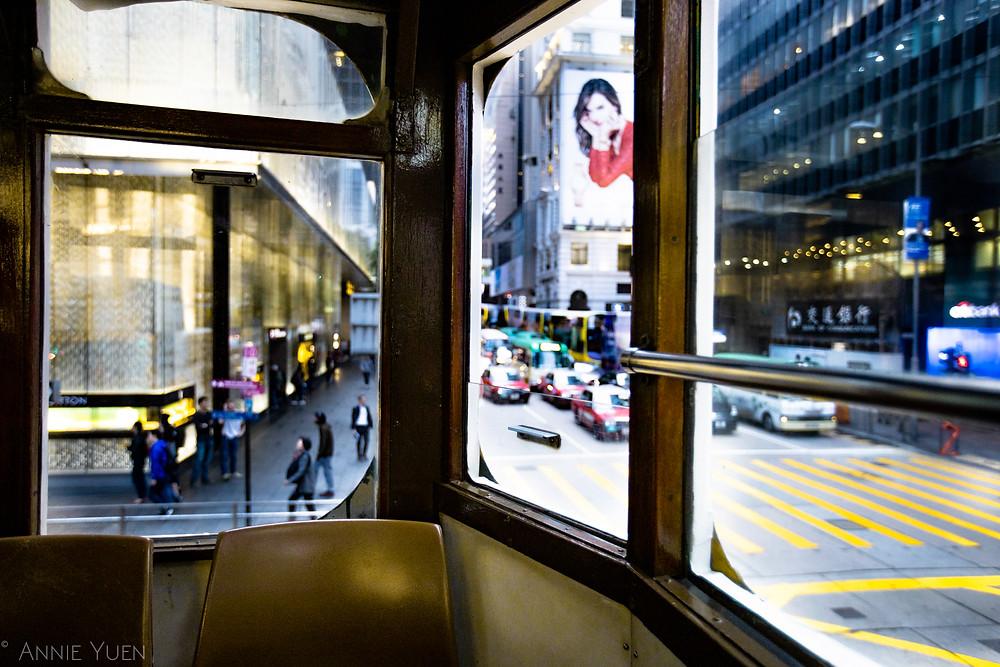 Back of a Tram