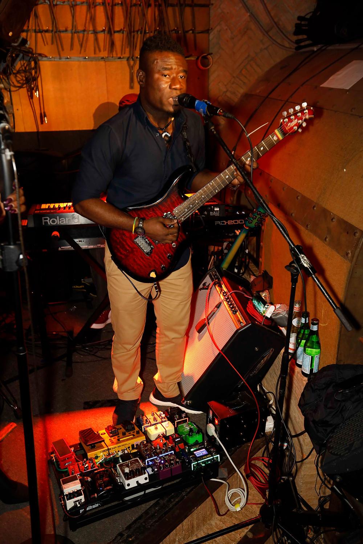 Guitarist at Iron Fairies