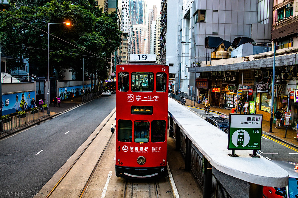 Hong Kong Red Tram