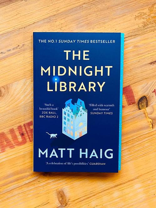 The Midnight Library; Matt Haig