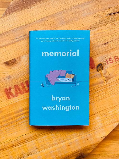 Memorial; Bryan Washington