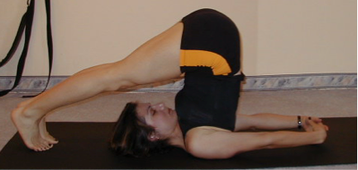 Halasana (figure C)