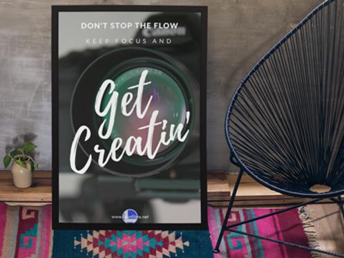 Get Creatin' - Poster