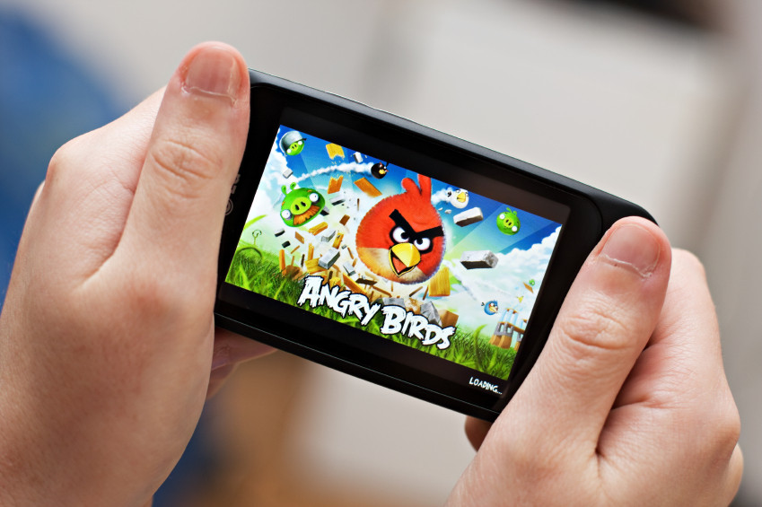 Angry Birds Mobile Gaming