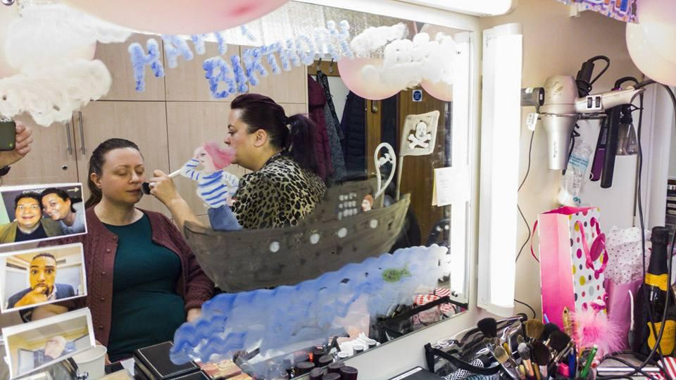 Ali's birthday workstation