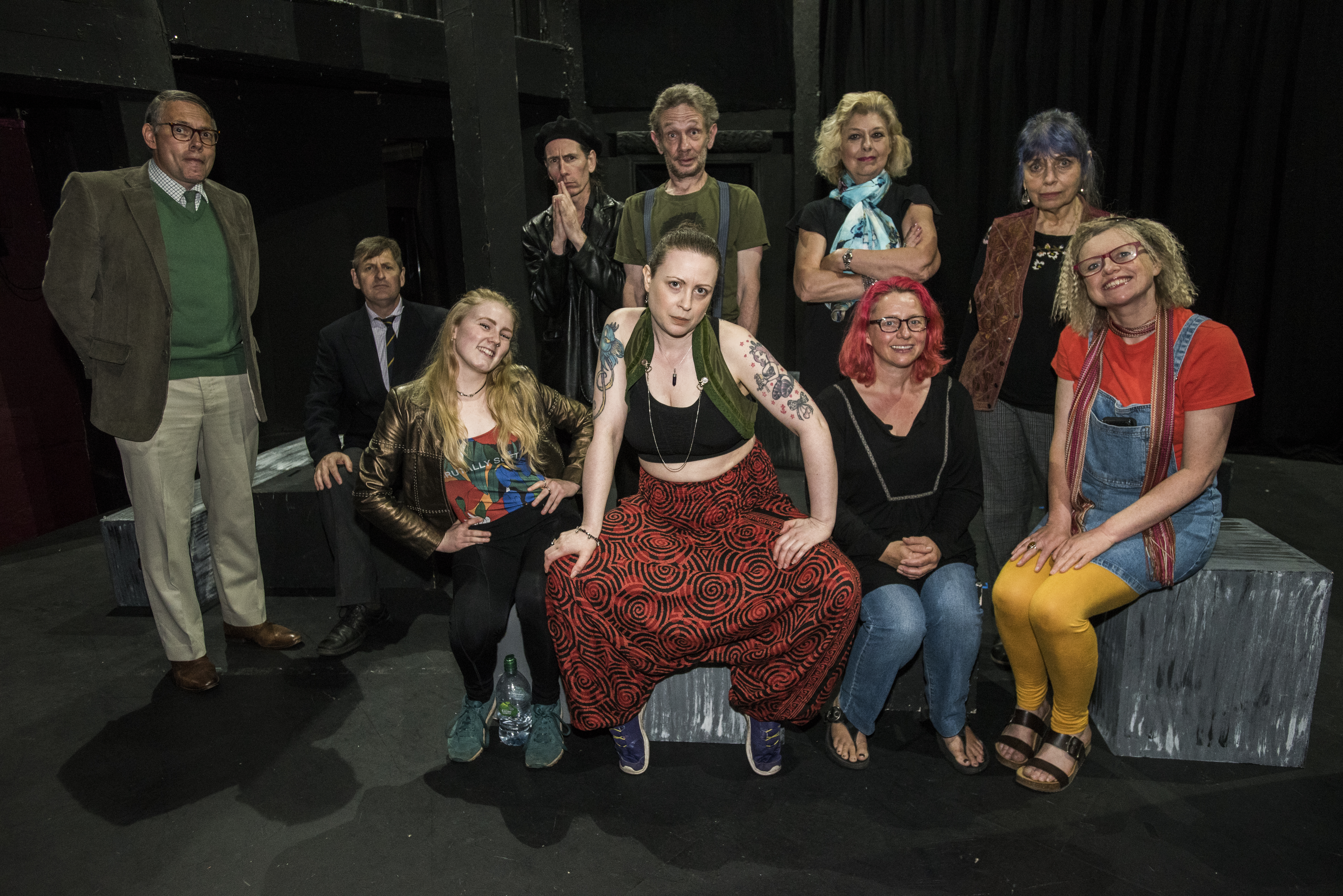 Jac (centre), The Audition, 2018